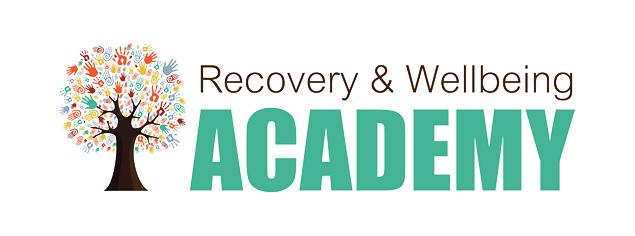 Recovery and wellbeing academy logo